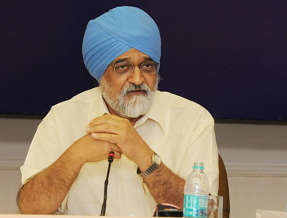 Planning Commission chief Montek Singh Ahluwalia