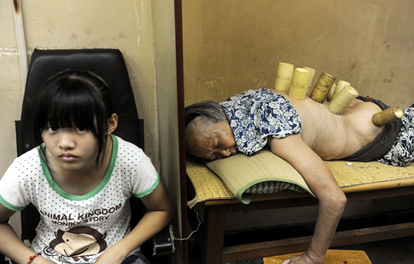 IN PIX: Crazy things people do to get well soon