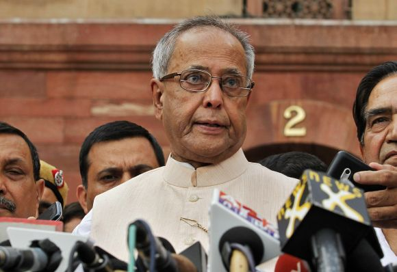 Mukherjee got 5,64,469 vote value, well beyond the half-way mark of 5,25,140 in an electoral college of over 10.5 lakh