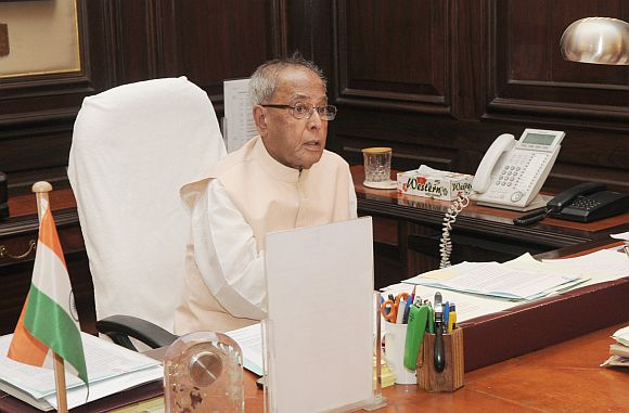 President but Pranab Mukherjee