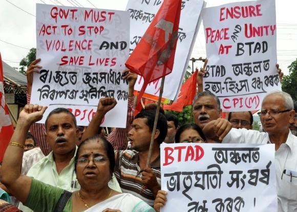 Ethnic violence rocks Assam