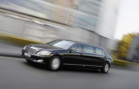 The S600L 'Pullman' luxury saloon