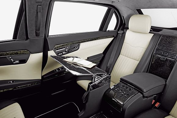 President Pranab Mukherjee's swanky Mercedes
