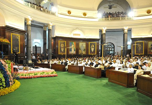 The Central Hall of Parliament