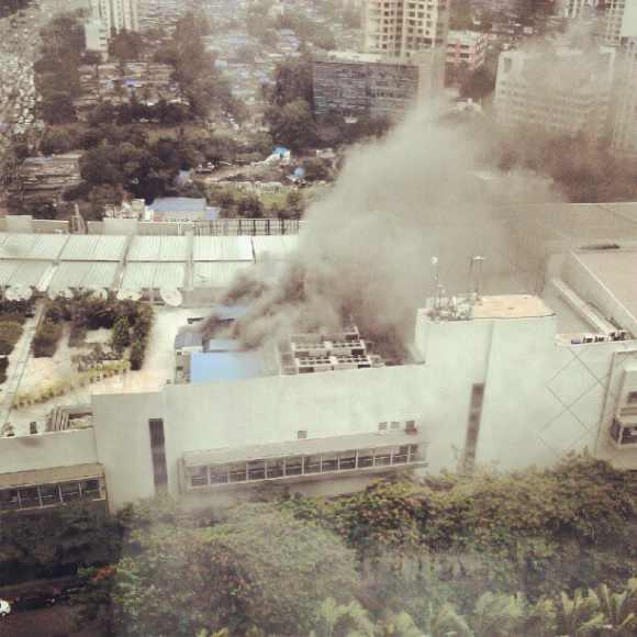 Fire at Mumbai's Oberoi Mall