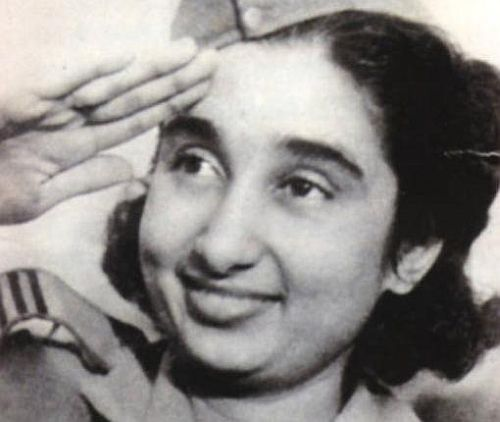 Captain Lakshmi Sehgal