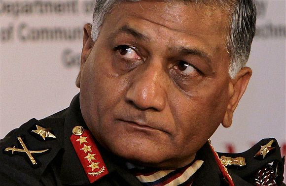 Former army chief V K Singh