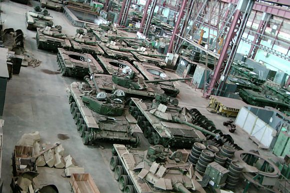 The Avadi tank factory