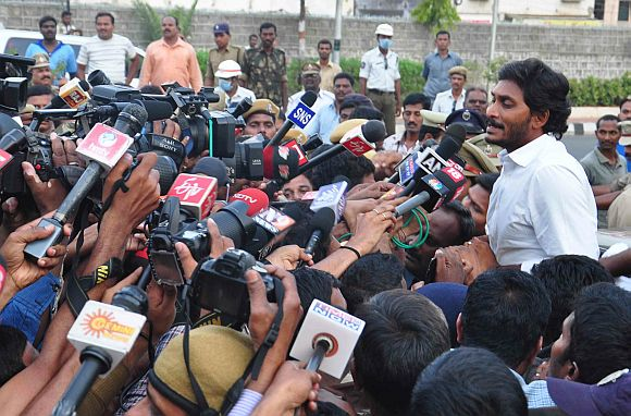 Arrest only a temporary setback for daring Jagan