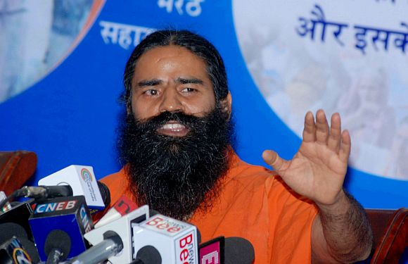 Look who's backing up Baba Ramdev's agenda