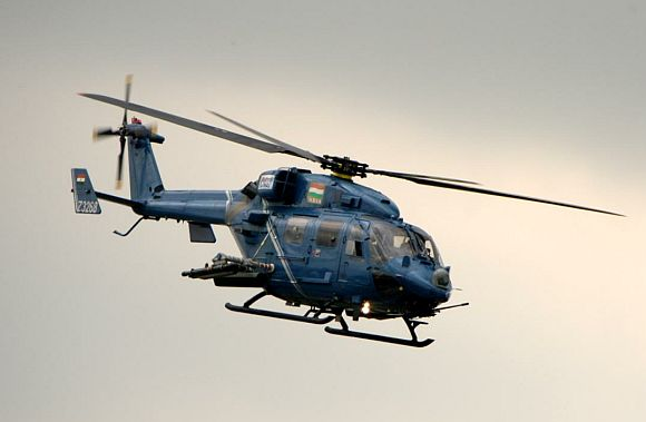 Dhruv Mark III helicopter