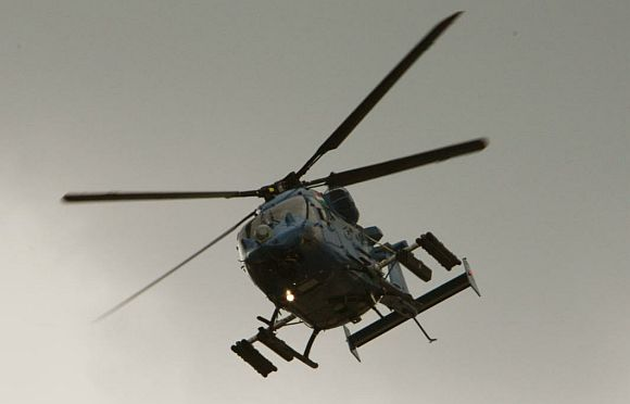 Rudra, the a heavily armed version of the Dhruv