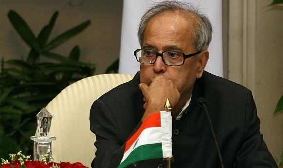 Finance Minister Pranab Mukherjee is the top contender for the President's post