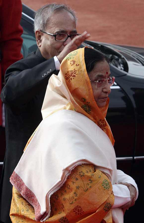 Pranab Mukherjee if elected President will take over from Pratibha Patil