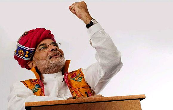 At Goa, Modi took a leaf out of Advani's book