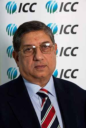 BCCI chief N Srinivasan