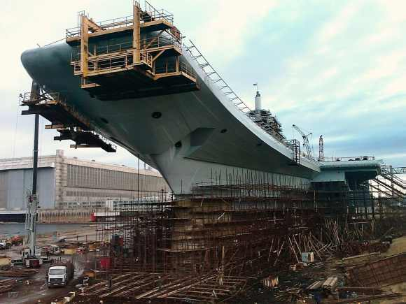 Indian Navy's Rs 12,650-cr Russian-built aircraft carrier