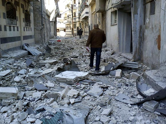 IN PHOTOS: The Syrian catastrophe continues