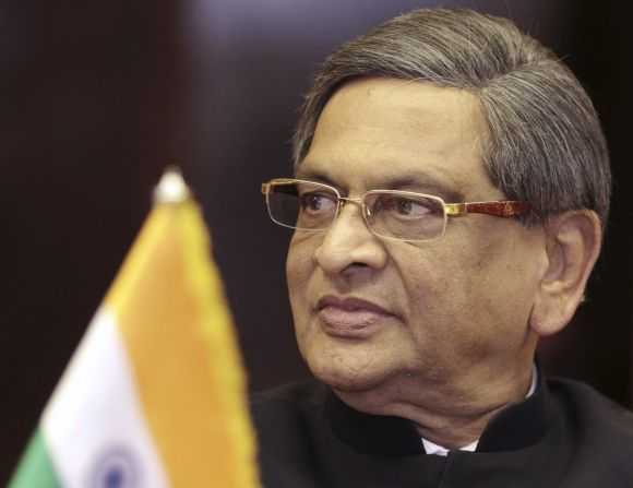 Foreign Minister S M Krishna