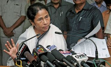 UPA ally Trinamool Congress chief Mamata Banerjee