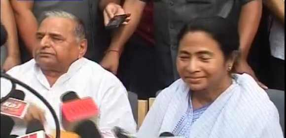 Samajwadi Party chief Mulayam Singh Yadav and Trinamool Congress chief Mamata Banerjee propsed the PM's name for the President's post