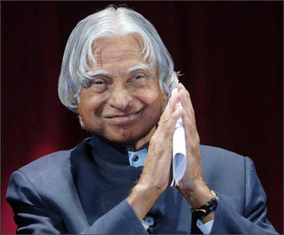 Former President AJP Abdul Kalam is back in the race for Rashtrapati Bhavan