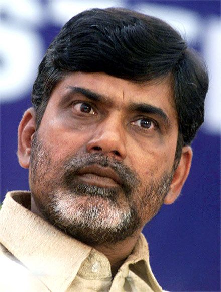 Former Andhra Pradesh CM and TDP chief Chandrababu Naidu