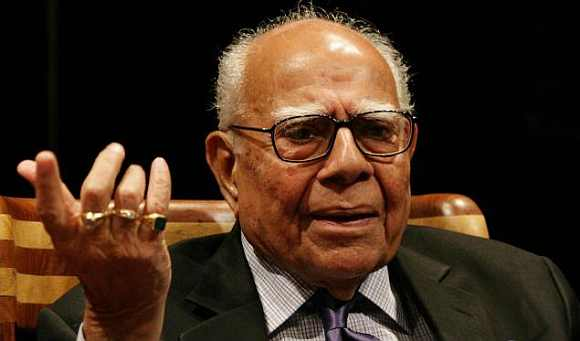 BJP  Rajya Sabha MP Ram Jethmalani