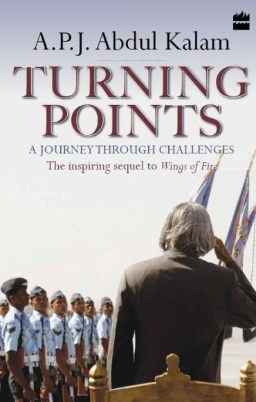 The cover of Kalam's yet to be released book 'Turning Points -- A Journey Through Challenges'