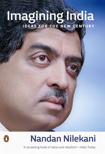 The cover of Nandan Nilekani's 'Imagining India'