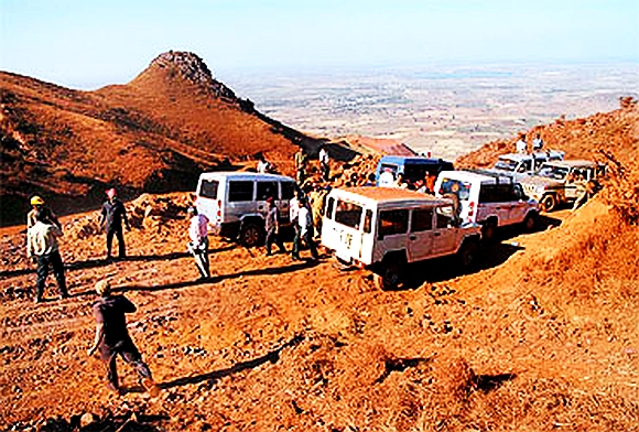 Mining operations around Bellary remained shuttered pursuant to a Supreme Court order barring ore exports from the state
