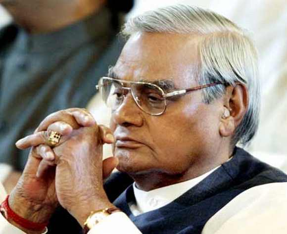 Former PM Atal Bihari Vajpayee