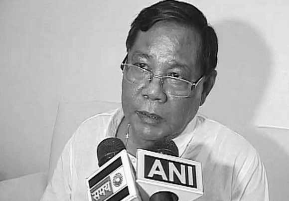 Presidential candidate P A Sangma