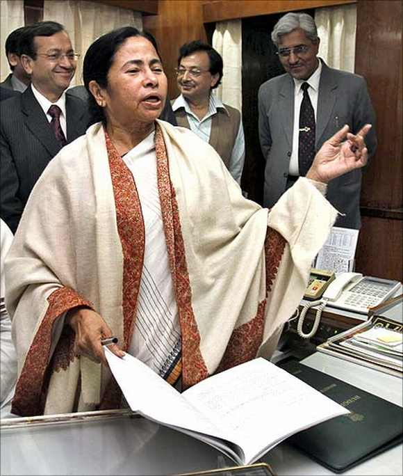 Trinamool Congress chief amd West Bengal CM Mamata Banerjee