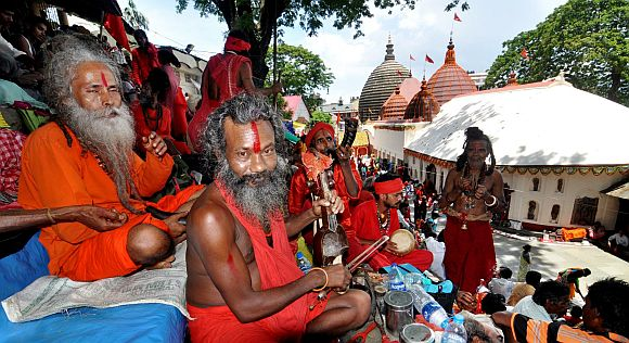Kamakhya temple door shuts for mega fest