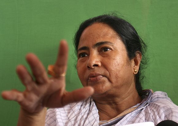 UPA ally Trinamool Congress supremo and West Bengal Chief Minister Mamata Banerjee