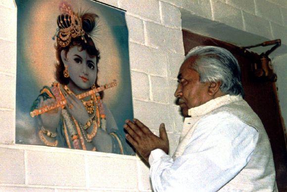 Former Gujarat CM Keshubhai Patel