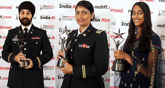 Major Kamaljeet Singh Kalsi, Captain Pratima Dharm and Sukanya Roy