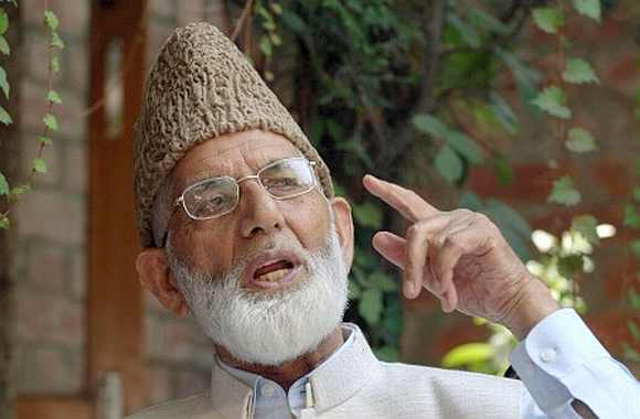 Hurriyat leader Syed Ali Shah Geelani