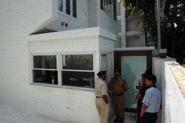 Kripashankar Singh's residence in Bandra, Mumbai was among the many properties raided on Friday