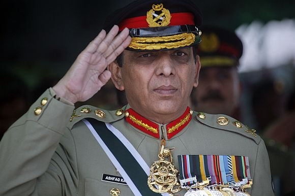 General Kayani had visited the Kakul Academy near Osama's compound nine days before the Qaeda chief was killed.