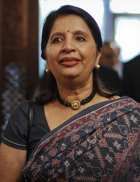 Indian ambassador to the US Nirupama Rao