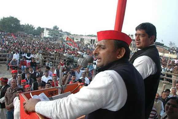Samajwadi Party leader Akhilesh Yadav