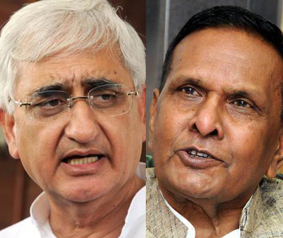 Salman Khurshid and Beni Prasad Verma drew flak for thier remarks on Muslim sub-quota