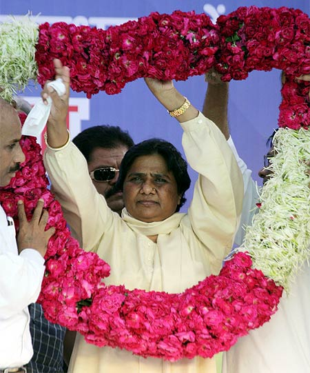 UP voters have shown massive anger against Mayawati's BSP