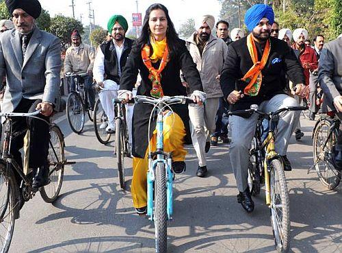 WINNER: Navjot Kaur (BJP)