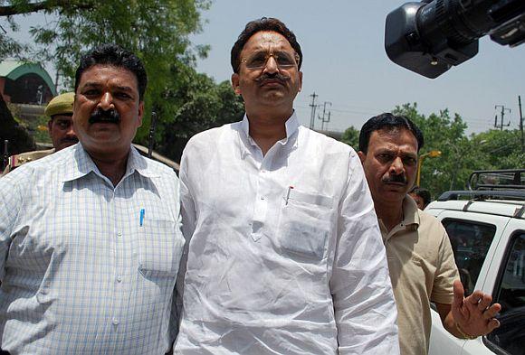 WINNER: Mukhtar Ansari (Quami Ekta Dal)