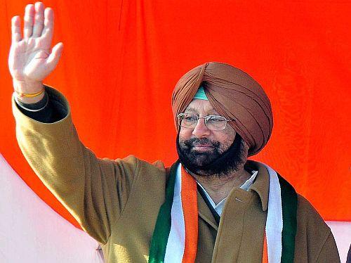 WINNER: Amarinder Singh (Congress)