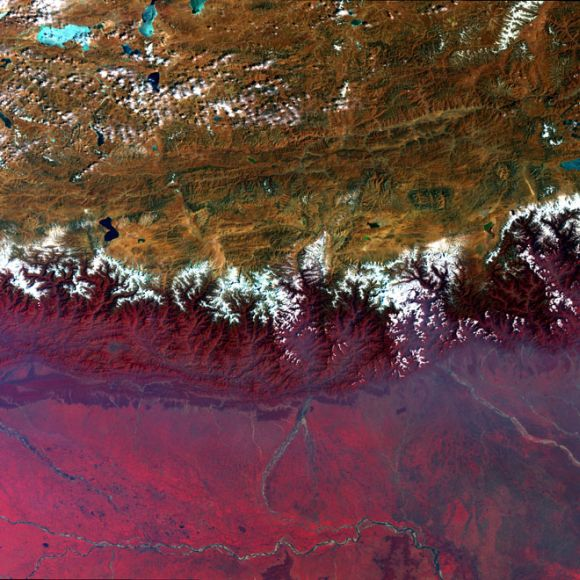 AMAZING VIEWS: Himalayas, Ganga, more from space!