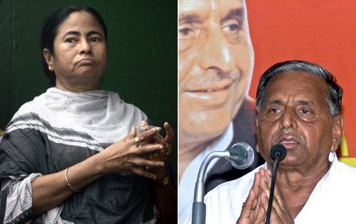 Who will prevail -- Mamata or Mulayam?